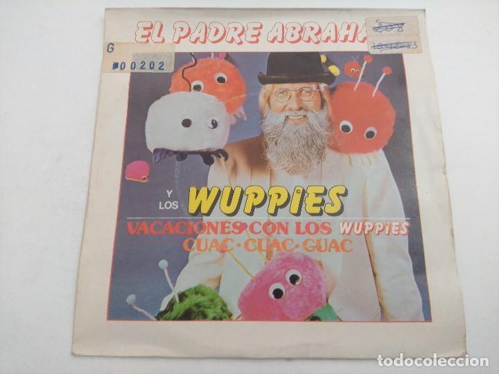 SINGLE/EL PADRE ABRAHAM Y LOS WUPPIES/PROMOCIONAL. (Música - Discos - Singles Vinilo - Bandas Sonoras y Actores)