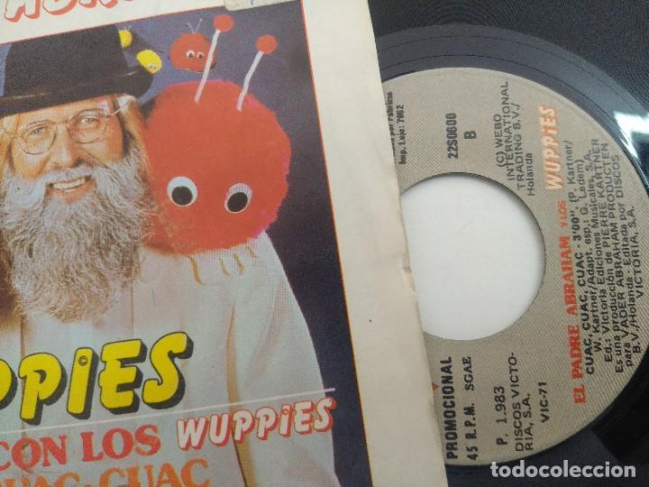 Discos de vinilo: SINGLE/EL PADRE ABRAHAM Y LOS WUPPIES/PROMOCIONAL. - Foto 2 - 269246863