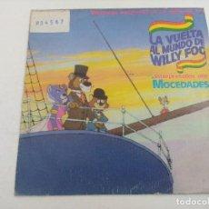 Disques de vinyle: SINGLE/LA VUELTA AL MUNDO DE WILLY FOG.. Lote 269247033