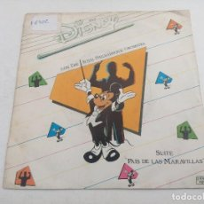Discos de vinilo: SINGLE/MAGIC DISNEY THE ROYAL PHILHARMOCIC ORCHESTRA.. Lote 269247258