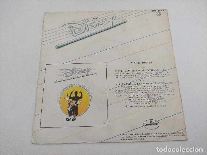 Discos de vinilo: SINGLE/MAGIC DISNEY THE ROYAL PHILHARMOCIC ORCHESTRA. - Foto 3 - 269247258