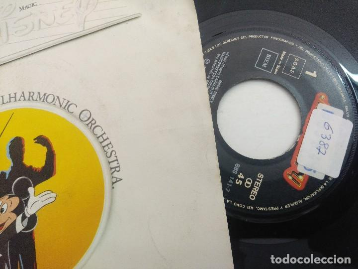Discos de vinilo: SINGLE/MAGIC DISNEY THE ROYAL PHILHARMOCIC ORCHESTRA. - Foto 2 - 269247323