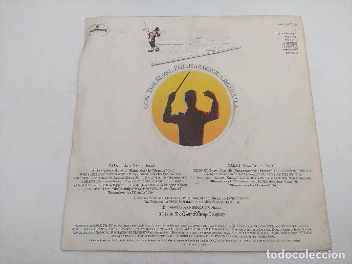 Discos de vinilo: SINGLE/MAGIC DISNEY THE ROYAL PHILHARMOCIC ORCHESTRA. - Foto 3 - 269247323