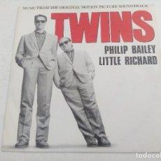 Discos de vinilo: SINGLE/PHILIP BAILEY-LITTLE RICHARD/TWINS/PROMOCIONAL.. Lote 269247453