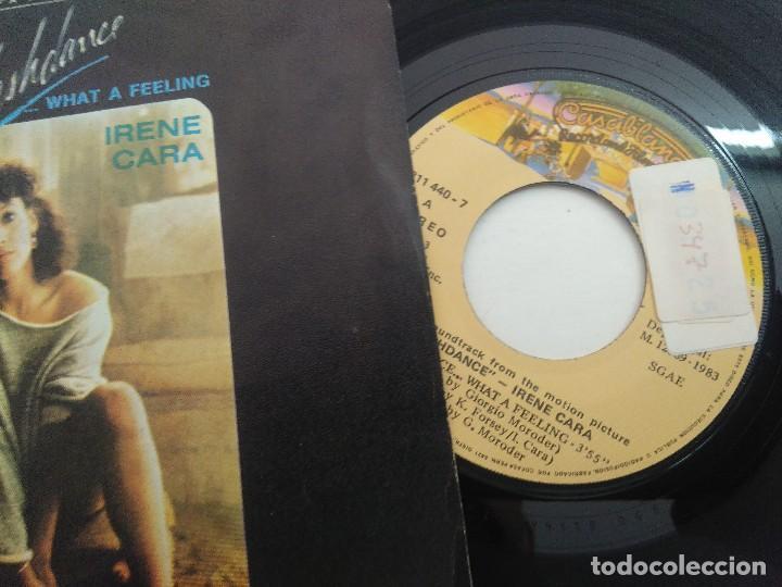 Discos de vinilo: SINGLE/FLASHDANCE/IRENE CARA. - Foto 2 - 269247608