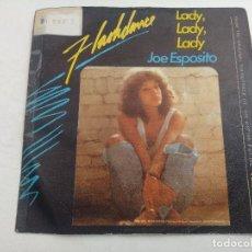 Discos de vinilo: SINGLE/FLASHDANCE/JOE ESPOSITO.. Lote 269247673