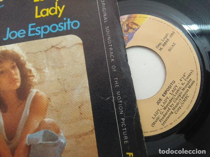 Discos de vinilo: SINGLE/FLASHDANCE/JOE ESPOSITO. - Foto 2 - 269247673