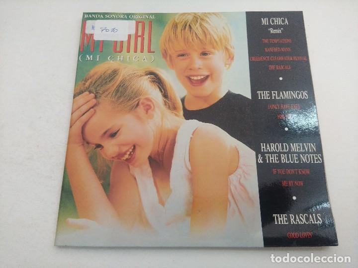 SINGLE/BANDA SONORA ORIGINAL MY GIRL/MI CHICA/DOBLE SINGLE. (Música - Discos - Singles Vinilo - Bandas Sonoras y Actores)
