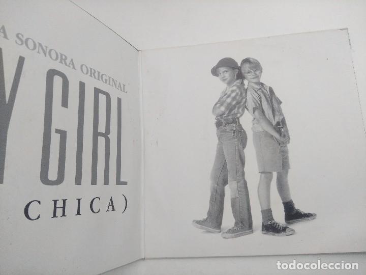 Discos de vinilo: SINGLE/BANDA SONORA ORIGINAL MY GIRL/MI CHICA/DOBLE SINGLE. - Foto 2 - 269247888