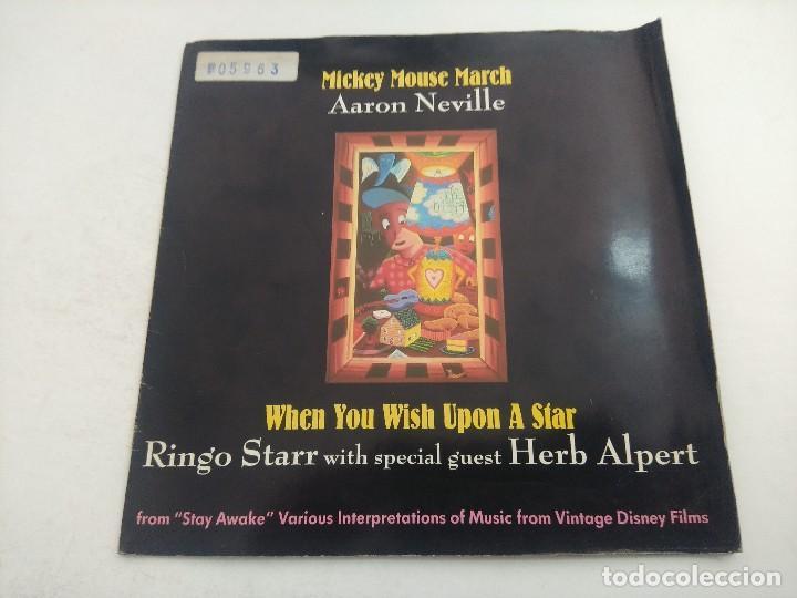 SINGLE/MICKEY MOUSE MARCH/AARN NEVILLE-RINGO STAR. (Música - Discos - Singles Vinilo - Bandas Sonoras y Actores)