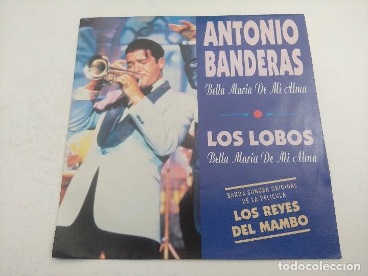 SINGLE/ANTONIO BANDERAS-LOS LOBOS/LOS REYES DEL MAMBO/PROMOCIONAL. (Música - Discos - Singles Vinilo - Bandas Sonoras y Actores)