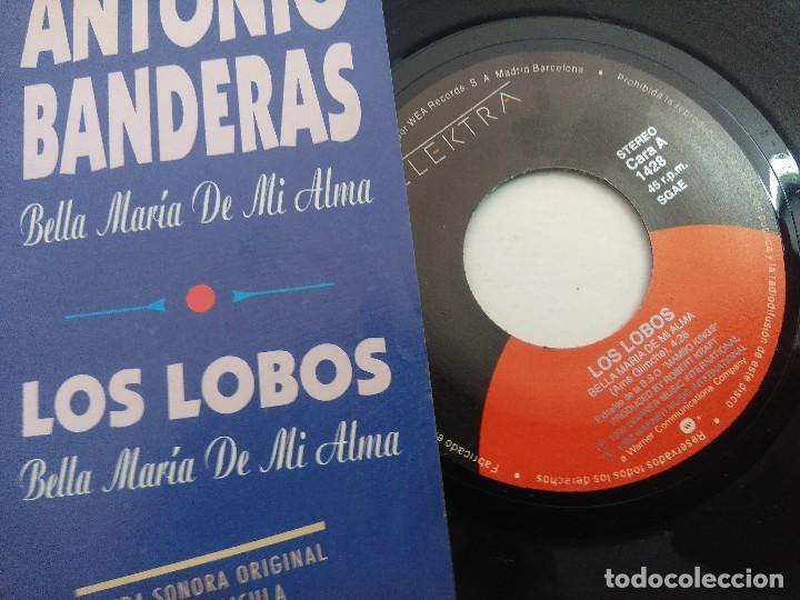 Discos de vinilo: SINGLE/ANTONIO BANDERAS-LOS LOBOS/LOS REYES DEL MAMBO/PROMOCIONAL. - Foto 2 - 269248868