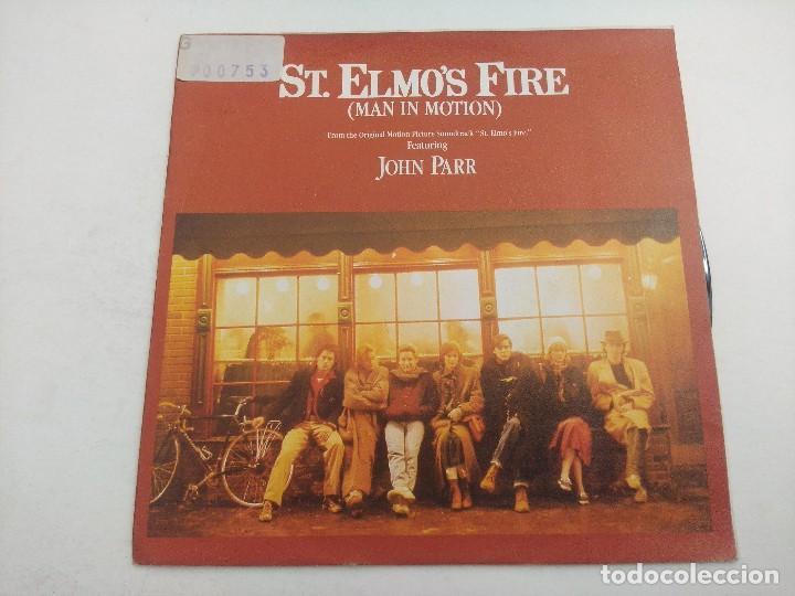 SINGLE/JOHN PARR/ST ELMO'S FIRE. (Música - Discos - Singles Vinilo - Bandas Sonoras y Actores)