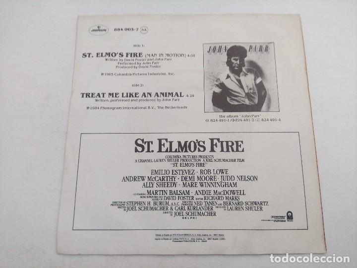 Discos de vinilo: SINGLE/JOHN PARR/St ELMOS FIRE. - Foto 3 - 269248993