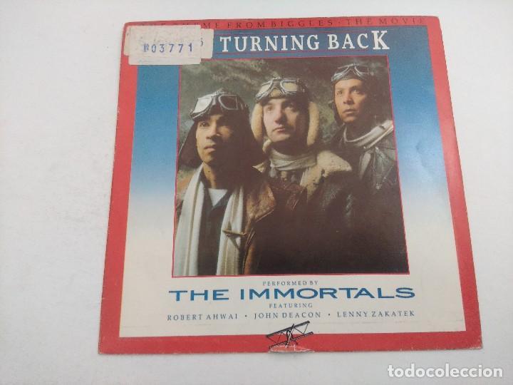 SINGLE/NO TURNING BACK/THE INMORTALS/PROMOCIONAL. (Música - Discos - Singles Vinilo - Bandas Sonoras y Actores)