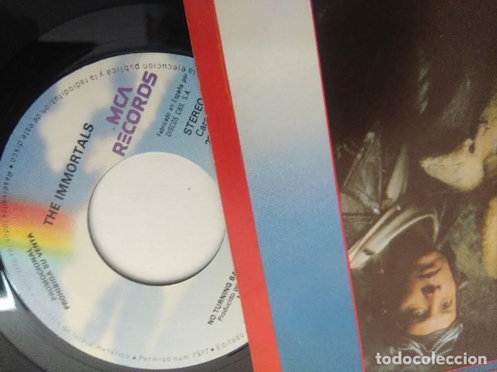 Discos de vinilo: SINGLE/NO TURNING BACK/THE INMORTALS/PROMOCIONAL. - Foto 2 - 269249193