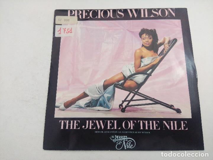 SINGLE/PRECIOUS WILSON/THE JEWEL OF THE NILE/PROMOCIONAL. (Música - Discos - Singles Vinilo - Bandas Sonoras y Actores)