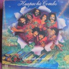 Disques de vinyle: LP - HUAPACHA COMBO - QUE BORDE ERA MI VALLE (SPAIN, BELTER 1982, PORTADA DOBLE CON ENCARTE). Lote 269252298