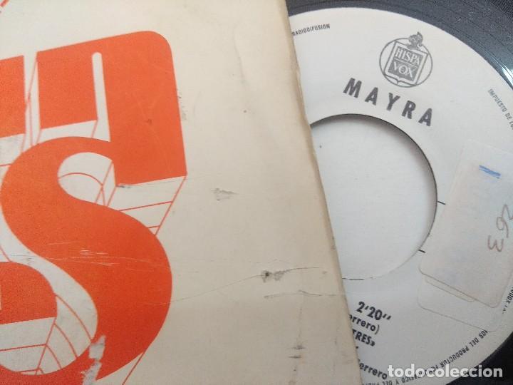 Discos de vinilo: SINGLE/UN,DOS,TRES/MAYRA/PROMOCIONAL. - Foto 2 - 269252808
