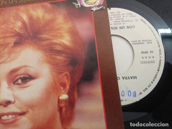 Discos de vinilo: SINGLE/UN,DOS,TRES/MAYRA GOMEZ KEMP/PROMOCIONAL. - Foto 2 - 269253003