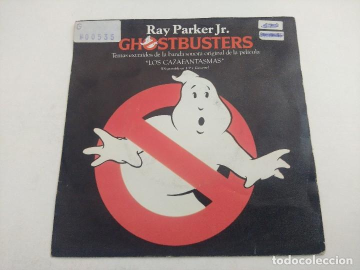 SINGLE/RAY PARKER JR/GHOSTBUSTERS. (Música - Discos - Singles Vinilo - Bandas Sonoras y Actores)