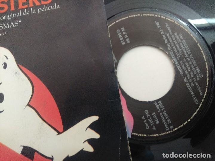 Discos de vinilo: SINGLE/RAY PARKER Jr/GHOSTBUSTERS. - Foto 2 - 269253183