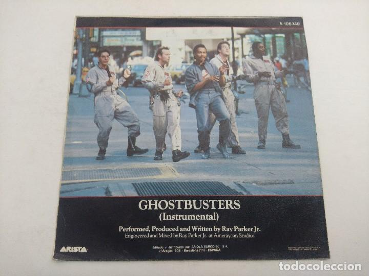 Discos de vinilo: SINGLE/RAY PARKER Jr/GHOSTBUSTERS. - Foto 3 - 269253183