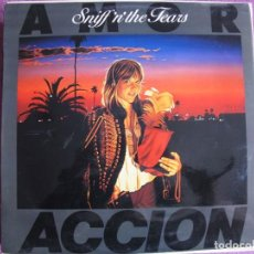 Disques de vinyle: LP - SNIFF N THE TEARS - ACCION (SPAIN, CHISWICK 1981). Lote 269254228