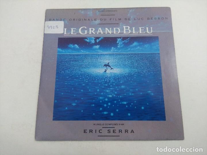 SINGLE/ERIC SERRA/LE GRAND BLEU. (Música - Discos - Singles Vinilo - Bandas Sonoras y Actores)
