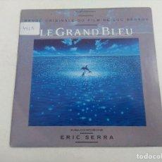 Discos de vinilo: SINGLE/ERIC SERRA/LE GRAND BLEU.. Lote 269254418