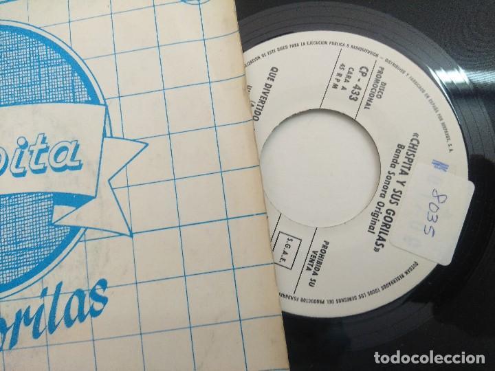 Discos de vinilo: SINGLE/CHISPITA Y SUS GORILAS/PROMOCIONAL. - Foto 2 - 269254508