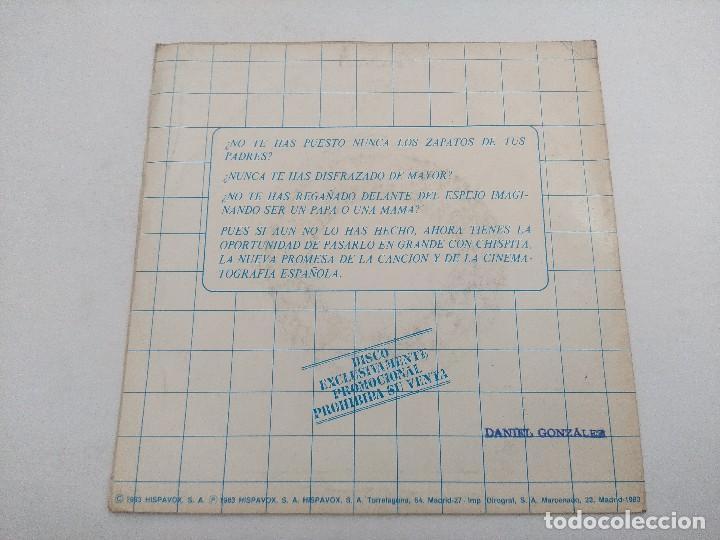 Discos de vinilo: SINGLE/CHISPITA Y SUS GORILAS/PROMOCIONAL. - Foto 3 - 269254508