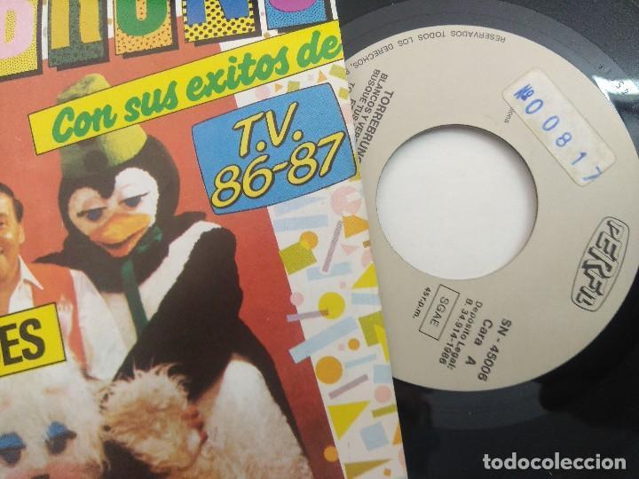 Discos de vinilo: SINGLE/TORREBRUNO Y SUS EXITOS DE TV 1986/87. - Foto 2 - 269254663