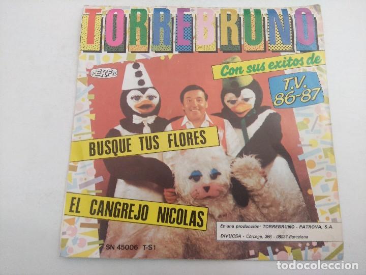 Discos de vinilo: SINGLE/TORREBRUNO Y SUS EXITOS DE TV 1986/87. - Foto 3 - 269254663