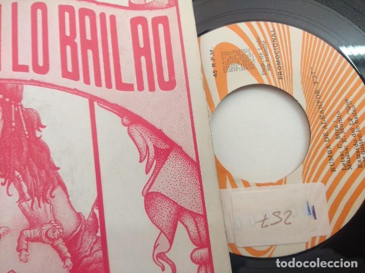 Discos de vinilo: SINGLE/QUE NOS QUITEN LO BAILAO/BANDA ORIGINAL DE LA PELICULA/PROMOCIONAL. - Foto 2 - 269254873