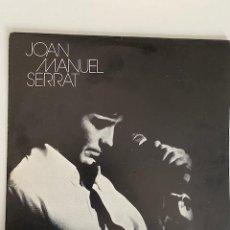 Discos de vinilo: VINILO JOAN MANUEL SERRAT: CANCIÓN INFANTIL...EDICION ARGENTINA,ÚNICO EN TC.3,33 ENVÍO CERTIFICADO.. Lote 269256373