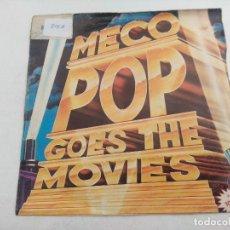 Discos de vinilo: SINGLE/MECO/POP GOES THE MOVIES. Lote 269258683