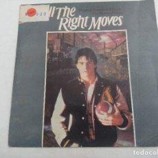 Discos de vinilo: SINGLE/ALL THE RIGHT MOVES.. Lote 269259263