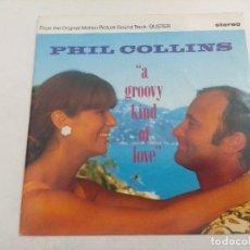 Discos de vinilo: SINGLE/PHIL COLLINS/A GROOVY KIND OF LOVE/BUSTER/PROMOCIONAL.. Lote 269259998