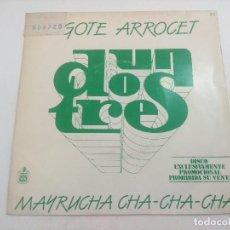 Discos de vinilo: SINGLE/UN,DOS,TRES/BIGOTE ARRCET/PROMOCIONAL.. Lote 269252498