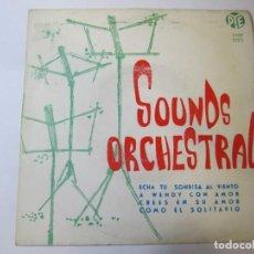 Discos de vinilo: DISCO VINILO SINGLE SOUNDS ORCHESTRAL ECHA TU SONRISA AL VIENTO. Lote 269261298