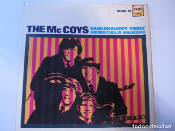 DISCO VINILO SINGLE THE MC COYS HANG ON SLOOPY (Música - Discos - Singles Vinilo - Pop - Rock Internacional de los 50 y 60)