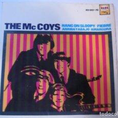 Discos de vinilo: DISCO VINILO SINGLE THE MC COYS HANG ON SLOOPY. Lote 269264733