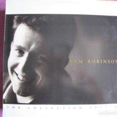 Disques de vinyle: LP - TOM ROBINSON - THE COLLECTION 1977-87 (PORTUGAL, EMI RECORDS 1987). Lote 269272128
