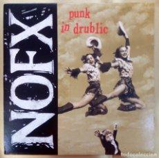 Disques de vinyle: NOFX -PUNK IN DRUBLIC. Lote 269273793