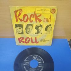 Discos de vinilo: SINGLE DISCO VINILO LLEGO EL ROCK AND ROLL ELVIS PRESLEY Y OTROS. Lote 269284038