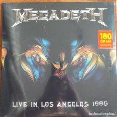 Discos de vinilo: MEGADETH - LIVE IN LOS ANGELES 1995 (LP) 2015 PRECINTADO !!!!!. Lote 269282278