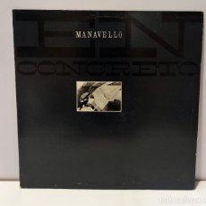 Discos de vinilo: PABLO MANAVELLO - EN CONCRETO. VINILO (LP, ALBUM). CCM2. Lote 269293278