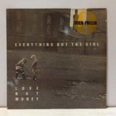Discos de vinilo: EVERYTHING BUT THE GIRL - LOVE NOT MONEY. VINILO (LP, ALBUM). CCM2. Lote 269294688