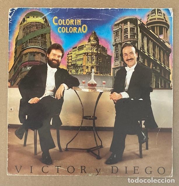 VÍCTOR Y DIEGO - COLORÍN COLORAO - SINGLE PROMO (GRABADO POR UNA SOLA CARA) (Música - Discos - Singles Vinilo - Cantautores Españoles)